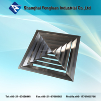 Square Ceiling Air Diffuser / Air Grille
