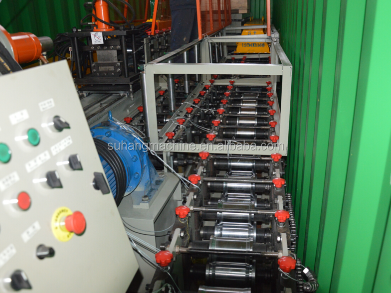 High Speed Top Hoed Koude Roll Forming Machine