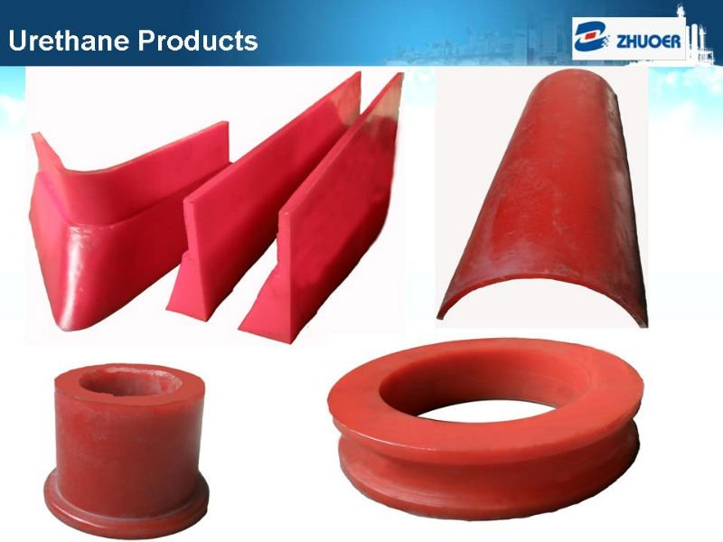 Casting Molded Polyurethane Product/high wear resistant custom cast polyurethane product