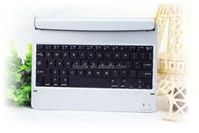 New Arrival Bluetooth Keyboard for Apple iPad Air , Aluminum Wireless Keyboard with Holder for iPad 2 3 4 F-IPD5KB002