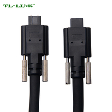 1394 IEEE FireWire cable with screw for Industrial camera