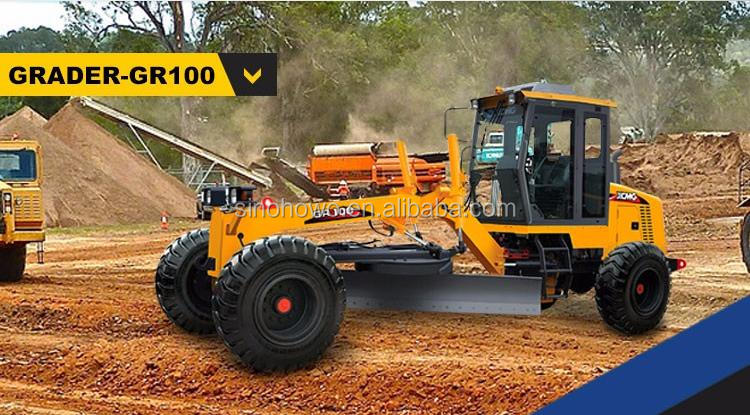Construction Machinery Motor Grader GR100 With Skillful Manufacture