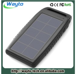 Mobile Phones 5V 10000Mah Solar Power Bank Charger Android Portable Solar Power Bank 10000 Mah