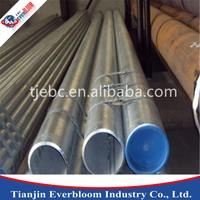 low pressure liquid transpot galvanized steel pipe/wholesale water pipe bs1387