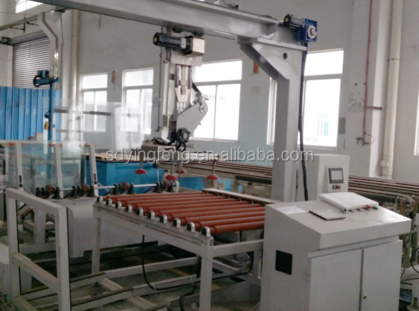JFC-1010 Glass loader and unloading table used glass cutting table and machine