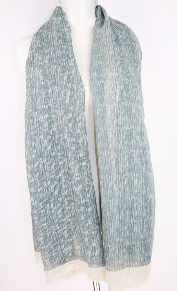 Simple elegant printing and summer oblong scarf woven scarf