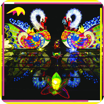 KANO9213 Chinese New Year Dragon Boat Lantern For Sale
