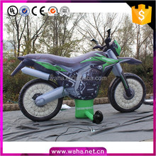 2016 Hot sale inflatable motorcycle, inflatable motor bicycle for advertising