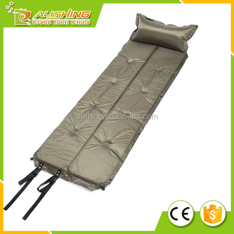 Wholesale Automatic self Inflating Mattresses Sleeping Pads For Outdoor Camping
