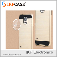 New product! Wiredrawing design phone case for pc tpu cover Samsung GALAXY S5