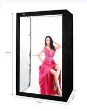 big led softbox light box deep brand portable photography led video light tent 200cm