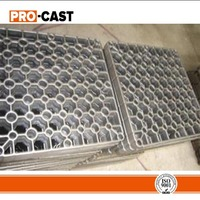 lost wax casting Stainless steel trays for heat treatment