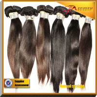 Hair extensions 100% real virgin hair cut from girls Indian straight hair