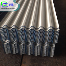 Widely used raw material GI galvanized corrugated decorative corrugated metal wall panels from Binzhou