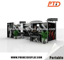 Standard Portable Exhibition Booth/Stand/stall 3*3/3*6/6*6/ Customized size