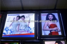 Advertising led wall mount crystal light box cover/ light box boards