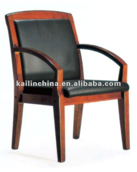 KL-S861 modern high quality trade assurance middle back support general leather custom made green material manager office chair