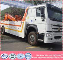 China factory sale 6x4 howo 310HP 16 ton road recovery truck