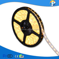 2014 china led lamp manufacturer high lumen epistar 5050SMD 30leds/m 585-595nm yellow color flexible led rope light