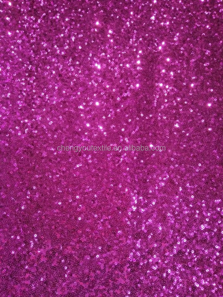 Beautiful Spangle Embroidered Sequin Fabric Supplier