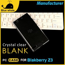 PC case, clear cell phone case for blackberry z3