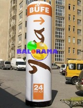 printed advertising balloon, special advertising balloon, inflatable tube