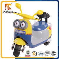 New model 3 wheels kids mini electric motorcycle made in china