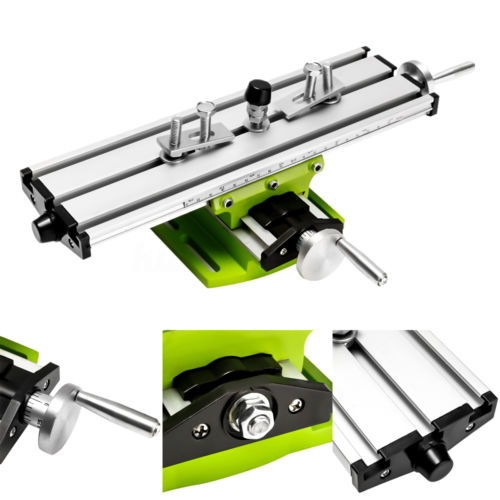 Worktable Compound Milling Machine Work Table Cross Slide Bench Drill Press Vise Fixture