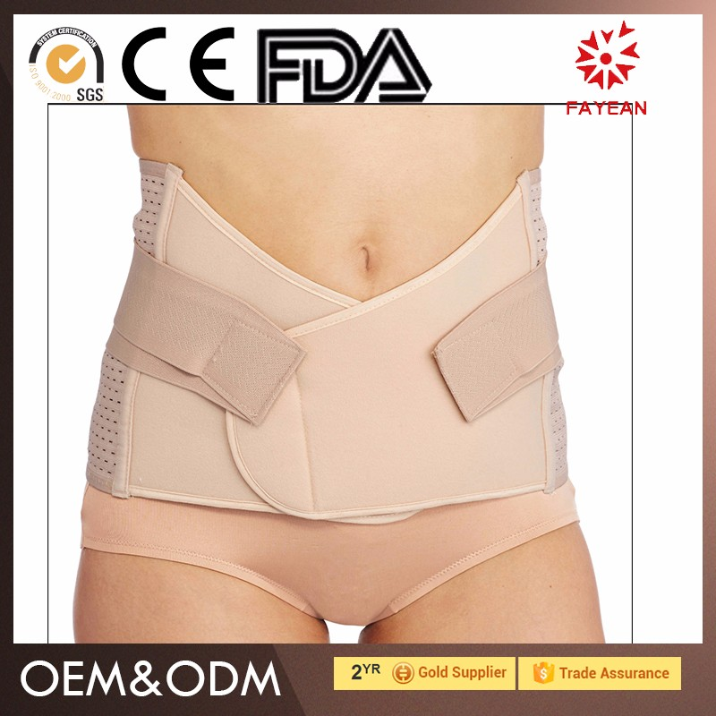 china factory adjustable slimming shaper belly brace slimming support shaping body for women