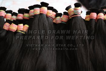 Vietnamese Remy Single Drawn Hair Ready-to-Weft (Premium Quality)