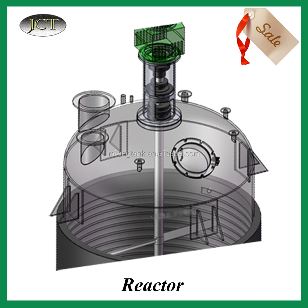 Stainless Steel High Pressure Vessel Reactor With Temperature Control