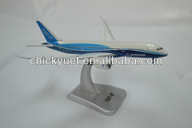 1:400 scale diecasting display 787 airline plane model