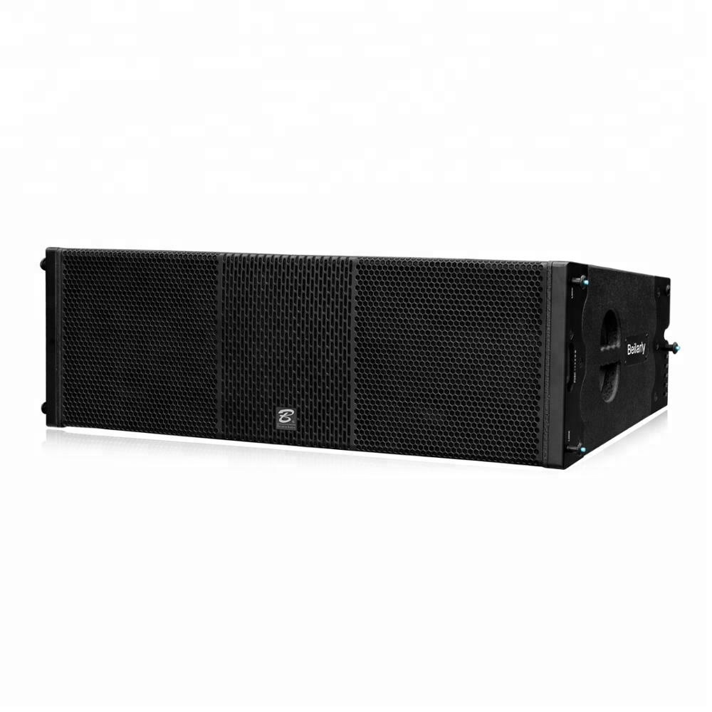 3 way dual 12 inch line array professional concert speakers