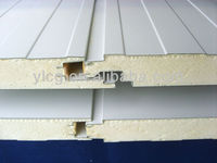 pu polyurethane roof and wall sandwich panel