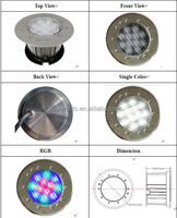 China wholesale 2 years warranty recessed led swimming pool lights