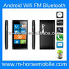 2013 Hot sell!! cheap low price M-HORSE 920mini 3.5 inch Android 4.1 android mobile phone dual sim with cover