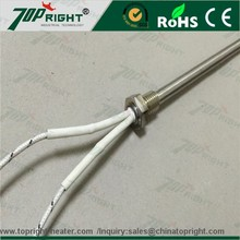 High Watts 240v Heat Element Cartridge Heater with Thermocouple