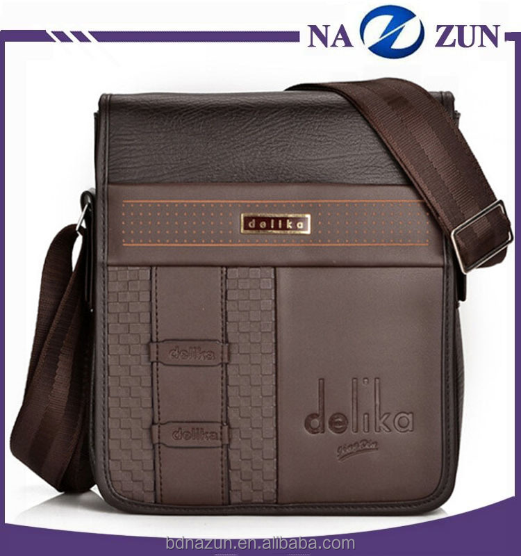 latest design delika carbon fiber briefcase/shoulder bag