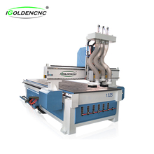 automatic multi spindle 1325 3d wood carving cnc router , cnc router machine