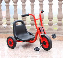 High quality factory price child 3 wheel tricycle with 2 seaters for sale