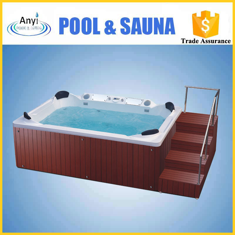 Body freestanding massage outdoor hot spa bath tub for house use