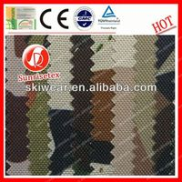 hot sale waterproof camouflage printed laminated fabric