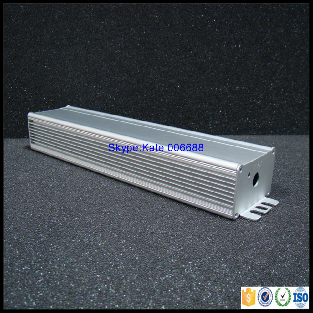 Extruded aluminum enclosure for electronic product profiles aluminium for case