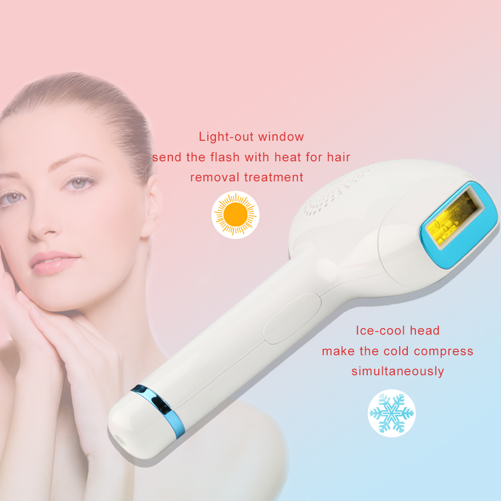 Amazon Hot Sale Highest Quality 3500000 Shots With LCD Display Yes Q Switch Woman Ice Cool Laser Hair Removal Instrument