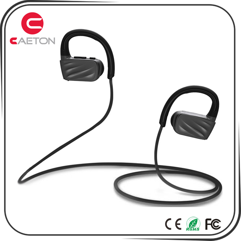 Bluetooth headphones IPX7 waterproof wireless 4.1 earbuds aptx stereo earphones fit for sports with built in mic