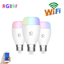 Free APP Controlled Dimmable Multicolored Color Changing Lights Led Smart Wifi bulb- Works with iPhone, iPad, Android Phone