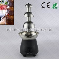 Best sale household type 3 layers chocolate fountain machine HJ-CM008