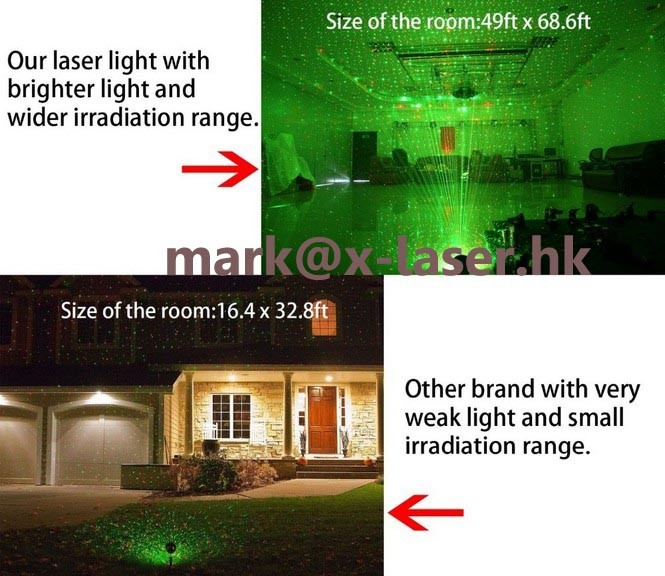 Wholesale outdoor mini wireless remote control laser light
