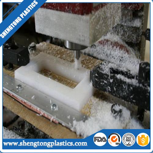 cnc customized machined uhmw polyethylene engineering plastic parts