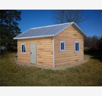 American steel prefabricated cozy economic prefab house for sale and living